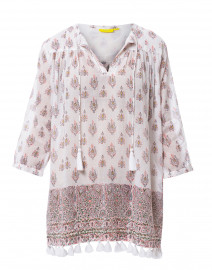 Serafina August Pink Printed Cotton Tunic