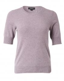 Lavender Knit Cashmere Top
