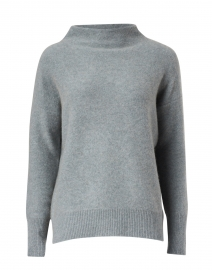 Blue Boiled Cashmere Sweater