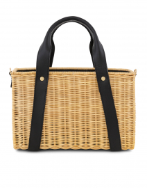 Daisy Black Wicker Bag
