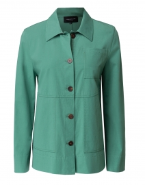 Pascal Green Cotton Jacket