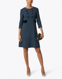 Jane - Isme Iron Wool Crepe Dress