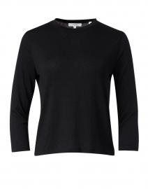 Black Stretch Knit Top