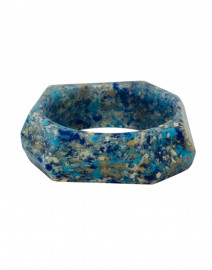 Mini Angle Robin Blue Granite Bangle