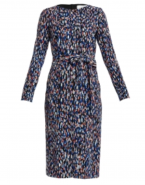 Darota Multi Dotted Stretch Viscose Dress