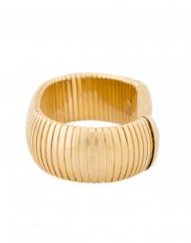 Janis by Janis Savitt - Flexible Gold Cobra Bracelet