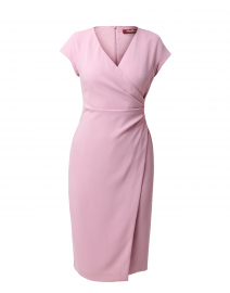 Parola Pink Ruched Dress