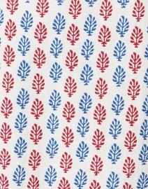 Megan Park - Saisha Ecru Multi Print Cotton Dress