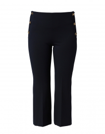 Worth Navy Pant with Side Buttons