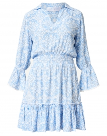 Mia Periwinkle Medallion Print Dress