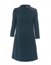 Goat - Eloise Green Wool Crepe Dress