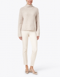 Vince - Pearl Textured Wool and Cashmere Sweater