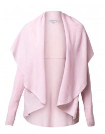 Pink Cashmere Circle Open Cardigan