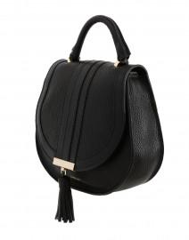 DeMellier - Mini Venice Black Pebbled Leather Cross-Body Bag