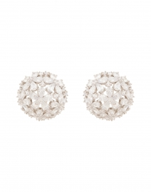Monarch Florette Crystal Button Earring