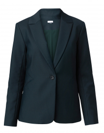 Forest Green Fitted Blazer