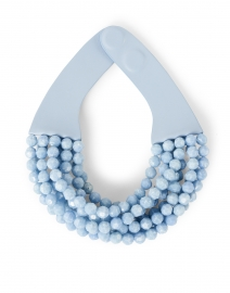 Bella Cornflower Blue Multistrand Necklace