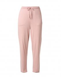 Powder Pink Cotton Tencel Jogger Pant