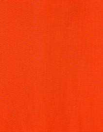 Sara Roka - Orange Wide Satin Ribbed Belt