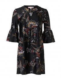 Kerry Black Floral Print Dress