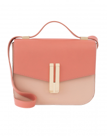 Vancouver Blush and Pink Leather Crossbody Bag