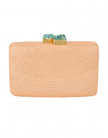 Jen Natural Straw Clutch