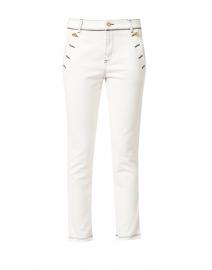 White Sailor Stretch Denim Jeans