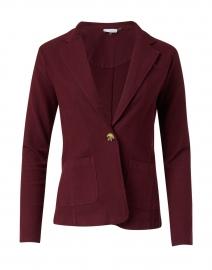 Everyday Garnet Cotton Stretch Blazer