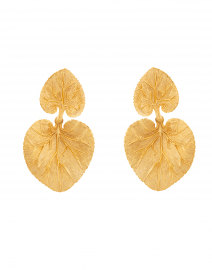 Eucalyptus Leaf Double Earring
