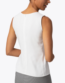 Emporio Armani - White Scoop Neck Shell