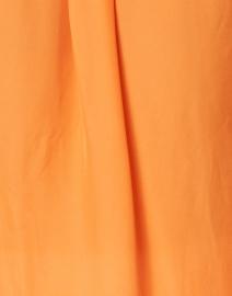 Veronica Beard - Morgane Tangerine Orange Silk Shirt
