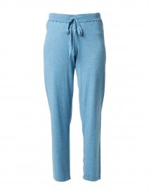 Seine Blue Cotton Cashmere Lounge Pant