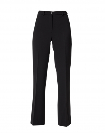 Black Stretch Straight Flare Pant