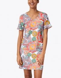Jude Connally - Nina Coral Paisley Printed Dress