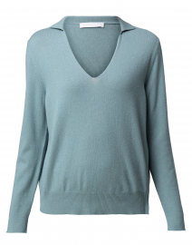 Lago Blue Polo Sweater