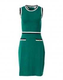 Angie Green Knit Merino Cotton Dress