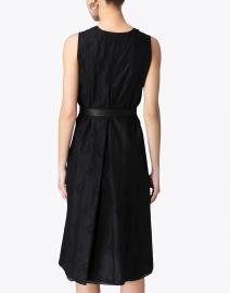 Max Mara Studio - Suez Black Eyelet Cotton Dress