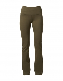 Gabriele Loden Green Stretch Knit Pull-On Pant