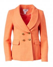 Coral Cotton Blazer