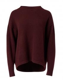 Charlotte Bordeaux Cashmere Sweater
