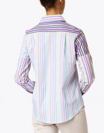 Vilagallo - Mafalda Multicolored Striped Cotton Shirt