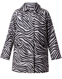 Black and White Zebra Print Slicker
