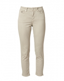 Piper Dusty Olive Stretch Sateen Pant