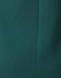 Goat - Erin Dark Emerald Wool Crepe Dress