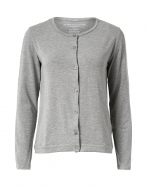 Grey Soft Touch Long Sleeve Cardigan
