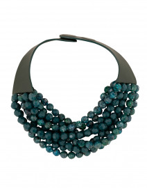Bella Two-Tone Teal Necklace