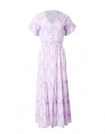 Christina Lavender Floral Print Midi Dress