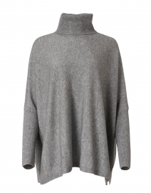 Light Grey Wool and Cashmere Sweater