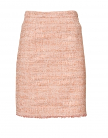 Celeste Pink Cotton Tweed Skirt
