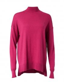 Rose Violet Cotton Silk Top